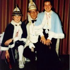 1987 Prins Robin Brugmans & Prinses Silvia Bloks