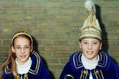 1996 Prins Wouter Goossens & Prinses Noortje van Schijndel