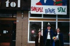1999 Prins Arjan Wellens & Prinses Ingrid Eijkemans